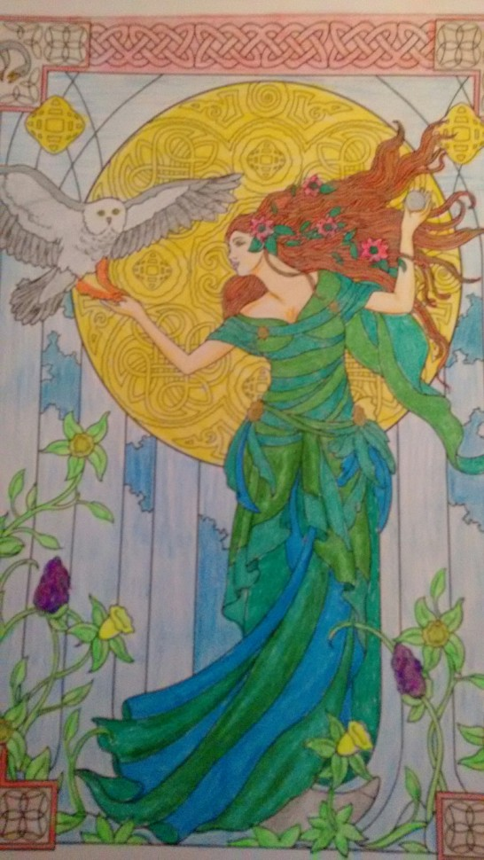 Coloring Goddess 1