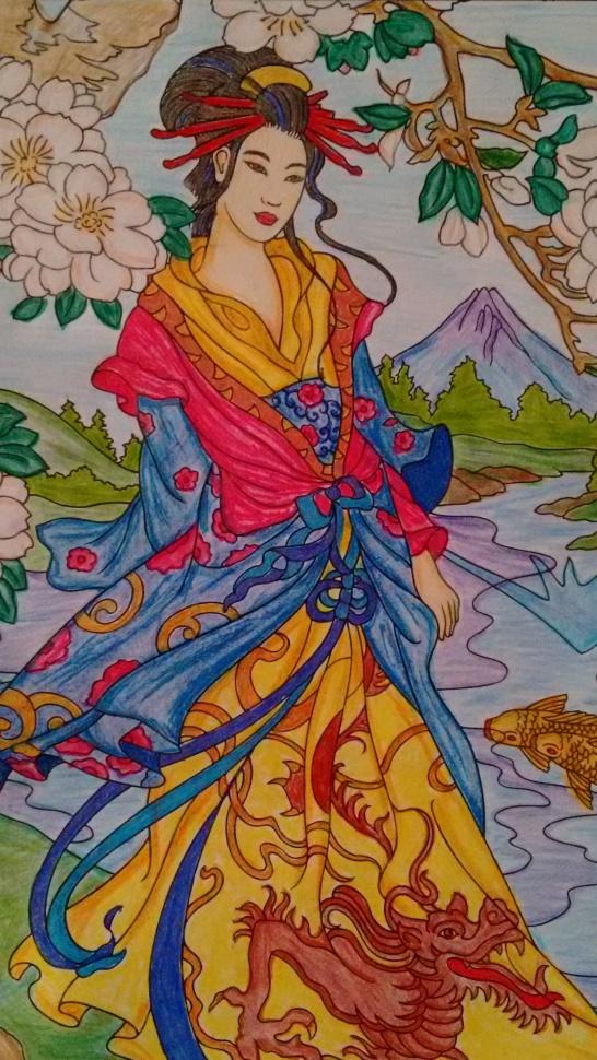 Coloring Goddess 3